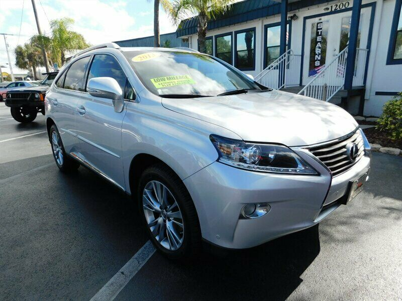2013 Lexus Rx, Silver Lining Metallic With 59704 Miles ...