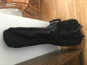 Soft Guitar Case, like new with Korg Tuner & Guitar Books.