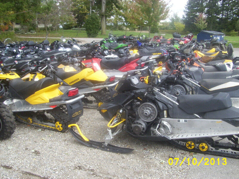 Used snowmobile parts wrecking recycling and salvage for Yamaha snowmobiles canada