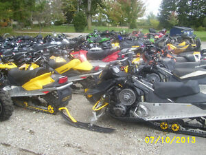 USED SNOWMOBILE PARTS - Wrecking , Recycling and Salvage