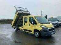PEUGEOT BOXER CREW CAB FULLY ALLOY TIPPER