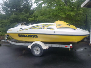 Sea Doo Speedster and Trailer