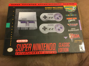 Authentic SNES Super Nintendo Classic Mini