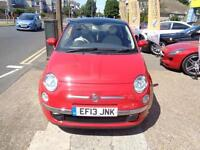 2013 13 Fiat 500 1.2 LOUNGE 69bhp GOOD AND BAD CREDIT CAR FINANCE AVAILABLE