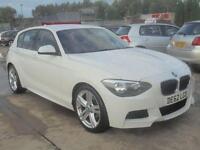 2012 62 BMW 1 SERIES 2.0 118D M SPORT 5D AUTO 141 BHP DIESEL
