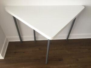 Ikea white folding  table