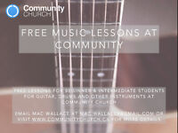 Free Music Lessons at Community Church