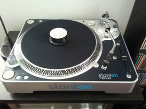 stanton T90 stereo turntable record player
