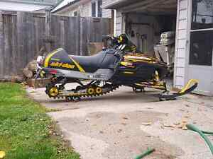 Looking to trade skidoo for enclosed trailer