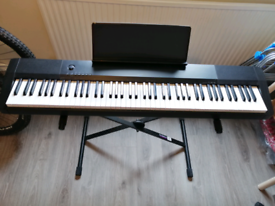 Casio CDP-120 (Piano Keyboard) & stand