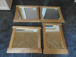 Mirrors in Maple Frames