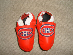 Montreal Canadiens Lil Jo's (NHL) Soft Sole shoes (Robeez style)