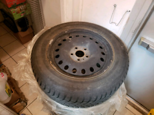 Winter tires on rims 245/60 R18