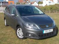 Seat Alhambra 2.0TDI DPF CR AUTOMATIC ( 140ps ) DSG 2012MY SE