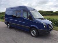 VW Motorhome Camper. 4 berth 4 seats fridge hob sink No Vat blue motion cheap tax