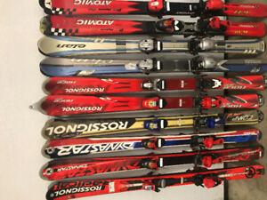 Ski liquidation gArs 80à140cm 60/70$+fille 80à 140cm de 70-100$