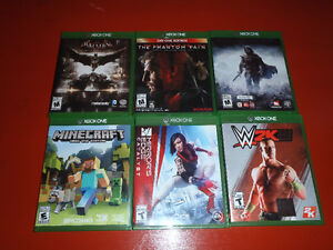 GAMES FOR nintendo WII-U , VITA, PS4 & XBOX ONE