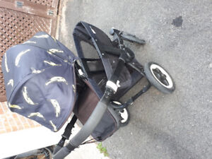 Limited edition double/twin Bugaboo Donkey stroller