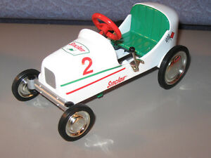 Sinclair Crown Premiums Pedal Car Coin Bank 47 BMC Racer 03