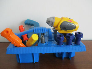 Boîte  À  Outils  Fisher Price  Sonore
