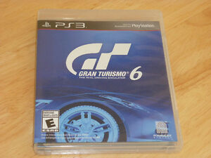Gran Turismo 6 et Zone of the Enders hd collection sur PS3