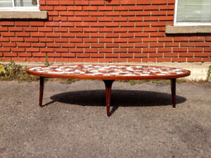 Table Basse de Salon Mid Century Vintage 1960 Chalvignac