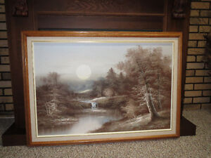 Oil painting on canvas Peterborough Peterborough Area image 1