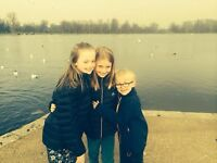 Urgent April 2017 Live-in au pair needed in Parsons Green, Fulham SW6 (girl 9yr, boy 7yr)