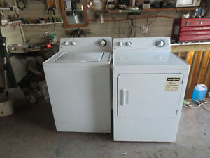 Q/E washer and dryer  pair  commercial  quality