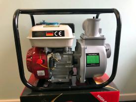 Gasoline Water Pump 6.5hp Brand New