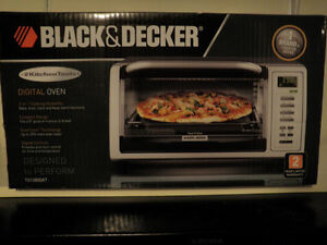 Black & Decker Toaster Oven model # To1380skt