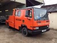 Recovery truck spec lift leyland daf
