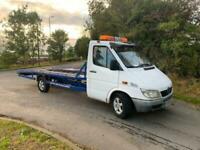2000 MERCEDES SPRINTER 311 CDI Lwb recovery truck spares or repair Diesel Manu