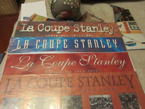 Coupe Stanley Cup ,  Hockey News Molson Export    4 Posters lot