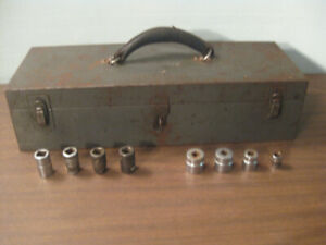 Vintage Snap-on Toolbox with 8 Sockets