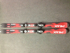Head Peak FLR Skis (length 163)