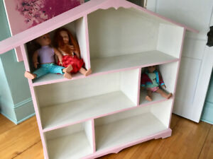 Custom Dollhouse Bookcase