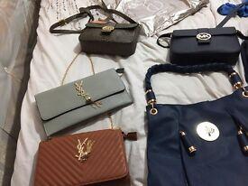 Handbags clutch bags purse job lot