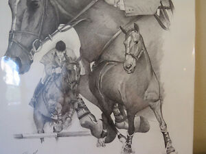 "EQUESTRIAN: TITLED ""THE GREAT CANADIAN "" IAN MILLER & BIG BEN. Kitchener / Waterloo Kitchener Area image 5"