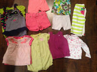 Bag of 6 month clothing-baby girl summer