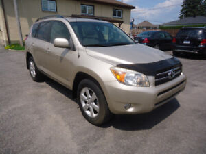 2008 Toyota RAV4 Limited SUV, Crossover Comes With Safety