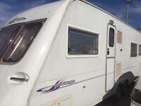Fleetwood Heritage CB640 Caravan