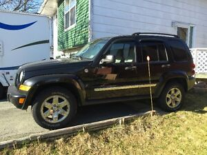2007 JEEP LIBERTY TRAIL RATED SUV, CROSSOVER