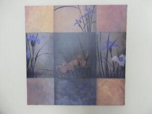 Cadre reproduction peinture sur toile 35 po x 35 po