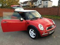 Mini Mini 1.6 Cooper. RED STUNNER! FULL SERVICE HISTORY, SERVICED UP TO 96 K.