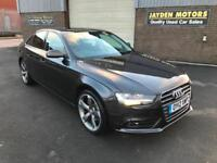 2012 AUDI A4 2.0TDI 143BHP AUTOMATIC MULTITRONIC SE,ONLY 57000 MILES WITH FSH