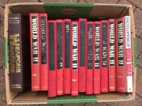 WORLD WAR TWO 1978 (Orbis) complete collection of 12 bonded volumes