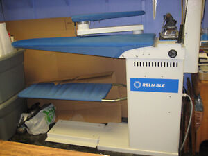 Reliable Industrial Ironing (Vacuum Press) Board and Boiler