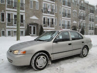 2000 TOYOTA COROLLA AUTOMATIQUE climatisation*4CYL 1.8L*155KM***