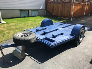 Utility trailer for dirt bikes and or /golf cart